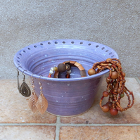 Jewellery earring bowl organise and display your jewelry handthrown pottery
