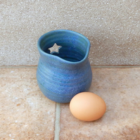 Egg separator jug wheel thrown stoneware ceramic pottery handmade