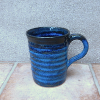 Coffee mug tea cup handthrown in stoneware pottery handmade  ceramic wheel