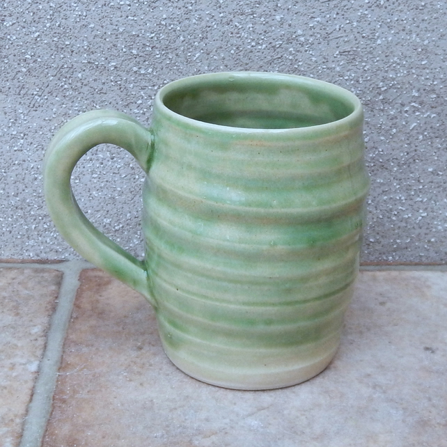 Coffee mug tea cup hand thrown stoneware handmade pottery ceramic