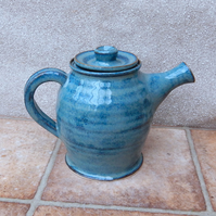 Teapot hand thrown in stoneware handmade ceramic pottery tea pot