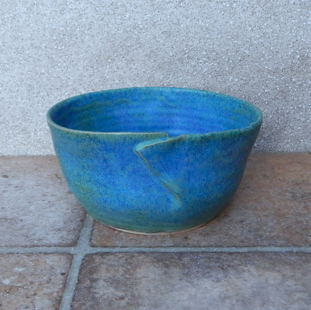 Soup, cereal, noodle or rice serving bowl dish handthrown stoneware handmade
