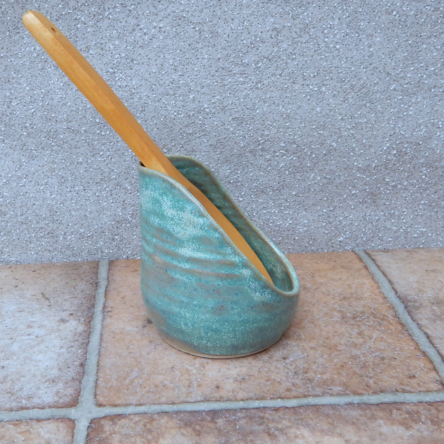 Spoon rest hand thrown stoneware pottery ceramic spoonrest handmade wheelthrown