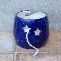 Yarn bowl knitting or crochet wool hand thrown pottery wheelthrown ceramic