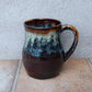 Beer stein tankard large mug hand thrown stoneware pottery