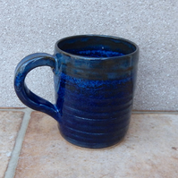 Coffee mug tea cup handthrown stoneware wheel thrown pottery ceramic handmade