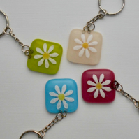 Fused Glass Keyring