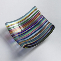 Fused Glass Trinket Dish