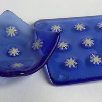 Little Daisies Coaster and Earring Dish