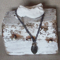 Labradorite and Iolite Necklace