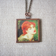 Dante Gabriel Rossetti 'Veronica Veronese' Art Necklace