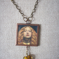 "John Everett Millais ""The Bridesmaid"" Art Necklace"