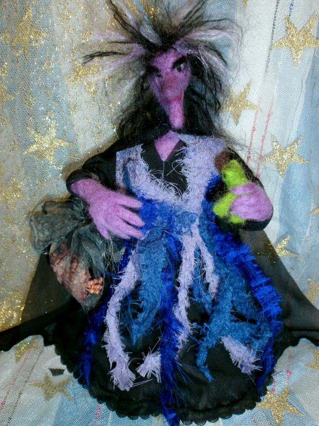 "Ethel the Witch  9"" High"