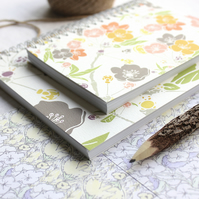 Spring Blossom - A6 Spiral Bound Pocket Notebook, Jotter, Mini Journal