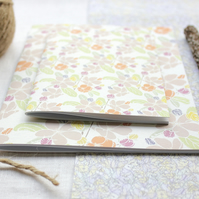 Apple Blossom - A6 Stapled Pocket Notebook