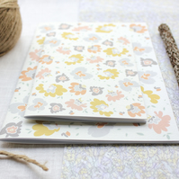 Buds & Blooms - A6 Stapled Pocket Notebook