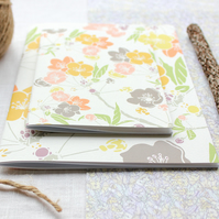 Spring Blossom - A6 Stapled Pocket Notebook