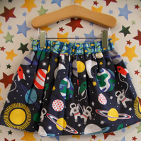 Space reversible skirt
