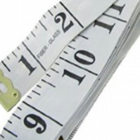 Dress makers tape measure 60 inches, 150cm long