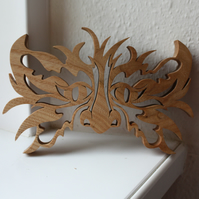 Wooden 'Green Man'  Ornament