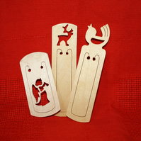 Bookmark Stocking Fillers-Set of 3