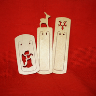 Stocking Filler Bookmarks-Set of 3