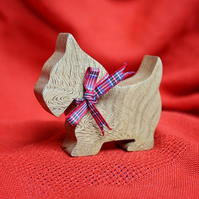 Wooden Scottie Dog