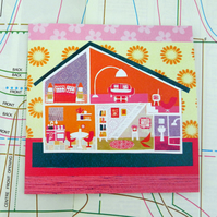 Doll House Card