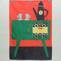 Coffee Pot Tea Towel
