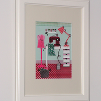 Sewing Room Giclee Print