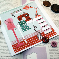 sewing room card