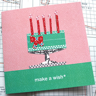 make a wish... birthday card