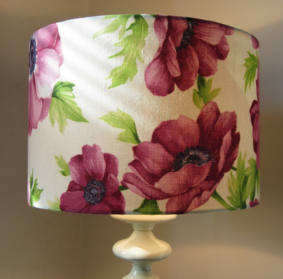 Lampshade - Pink Flowers