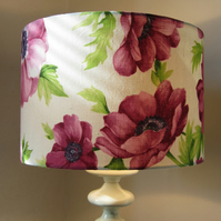 Lampshade - Bright Pink Flowers