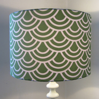 Bright Green Lampshade
