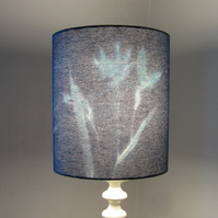 Blue Iris Design Lampshade