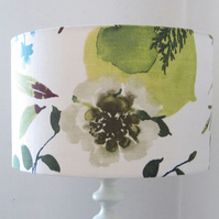Large Lampshade With Woodland Flower Design