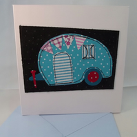 Caravan Themed Greeting Card