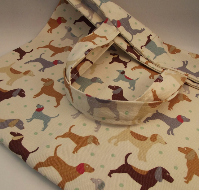 Dog Lovers Shopping Bag