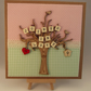Joined In Love Wedding Day Fabric card