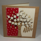 Sending Love Your Way Fabric Greeting Card