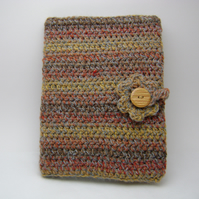 Crochet diary cover with 2012 diary