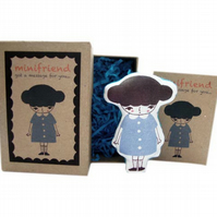 Cotton Message Doll - Minifriend Lara