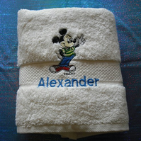 Embroidered Hand Towel
