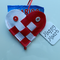 'Happy Heart' Decoration or gift
