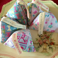 Lavender and Rice Wedding Favours