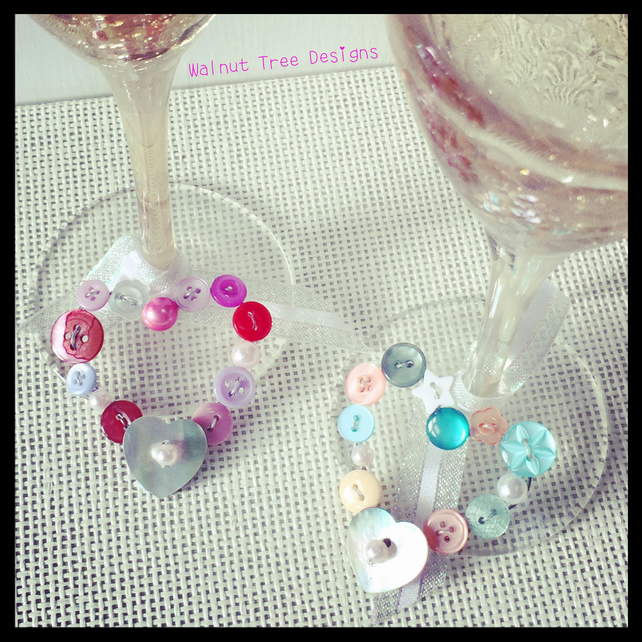 Glass Decoration and Favour