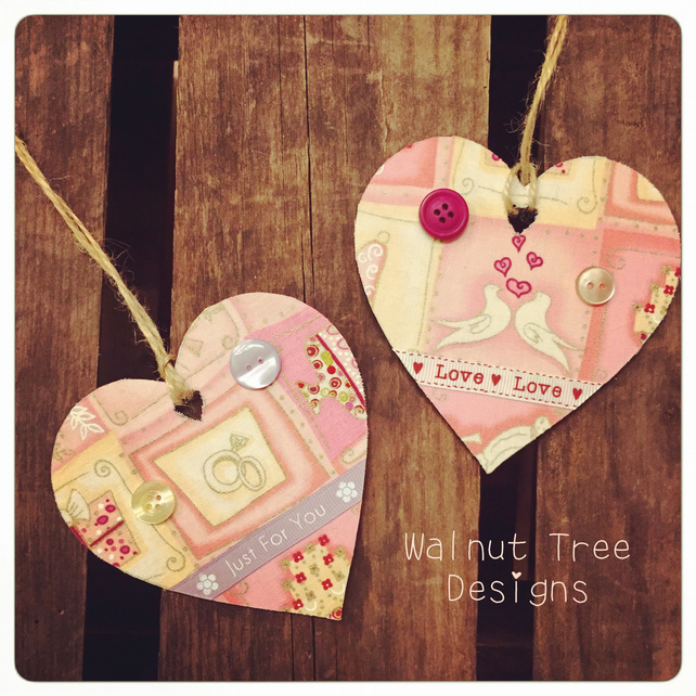 Wooden Heart-Shaped Favour