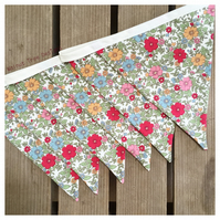 Rose and Hubble Fabric Bunting