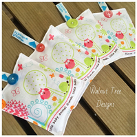 Owl and Tortoise Lavender Nursery Sachet